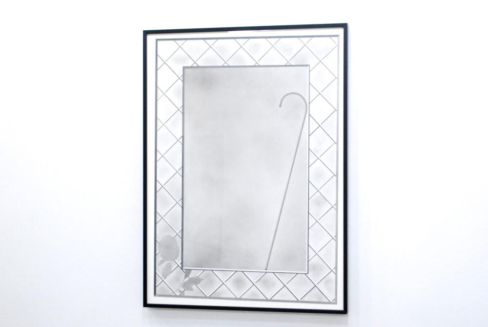 Milano Chow Lattice and Cane, 2014 graphite on paper