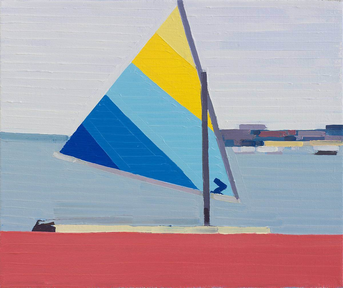 Sailboat (Index), 2015, oil on linen, 36x30 cm