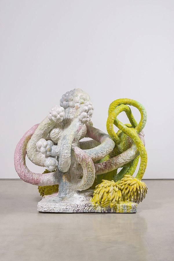 """Banana tree, ceramic, , 72""""x79""""x58"""", 2015"""