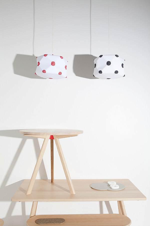 Hexahedra Lamp and Bracket Furniture