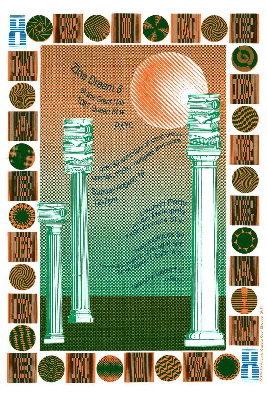 Zine Dream 8 Poster