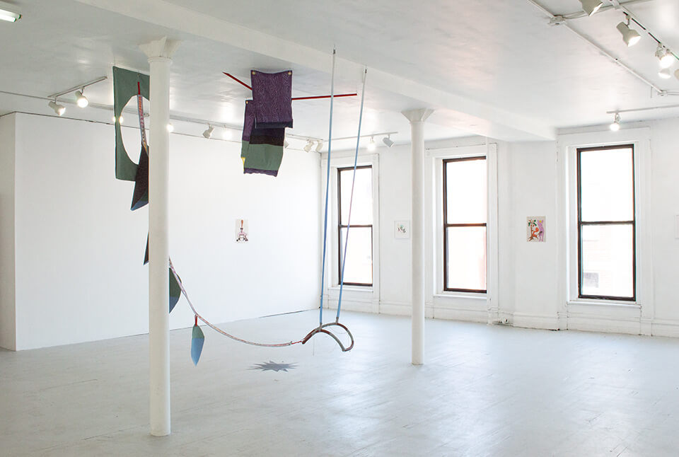 Image Description: This is an installation shot of the gallery.