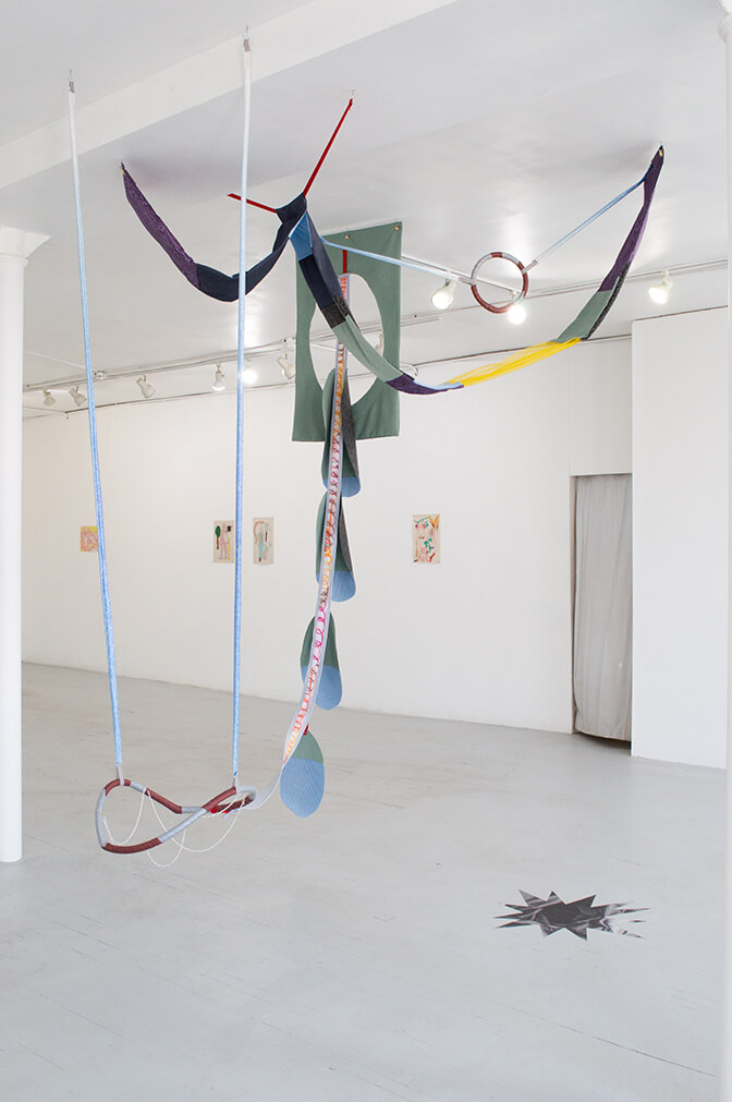 Image Description: This is an installation shot of